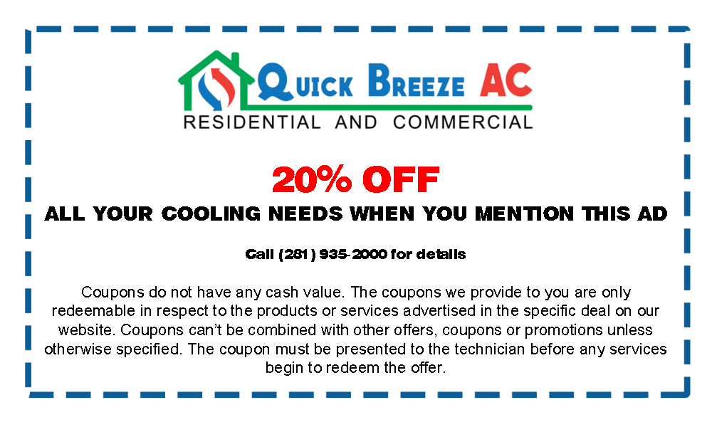 Coupon for AC Services in Spring and Surrounding Areas